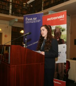 Juliette O Donnell speech Writing competition