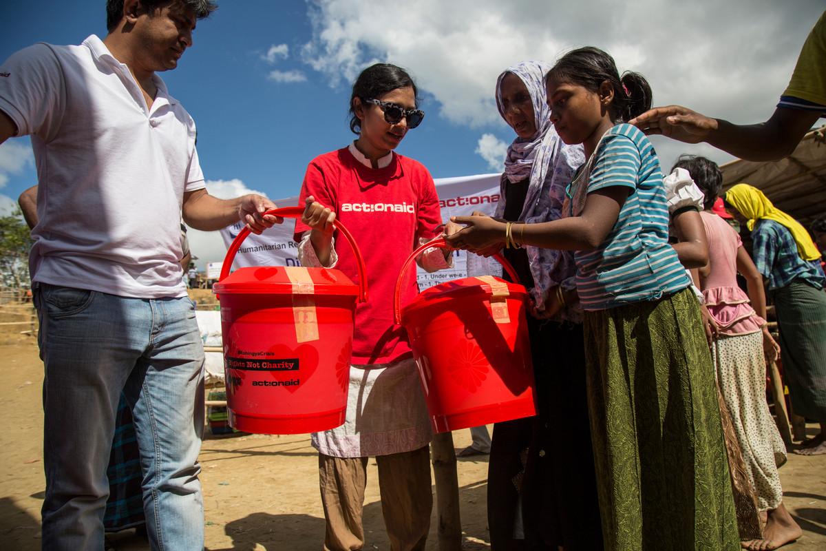 ActionAid response Rohingya