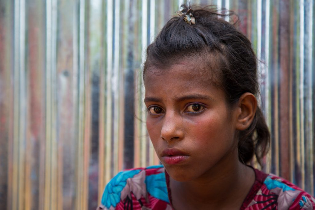 Taslima Rohingya Refugee