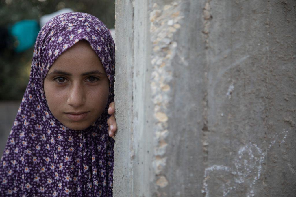Amnah ActionAid Gaza Appeal