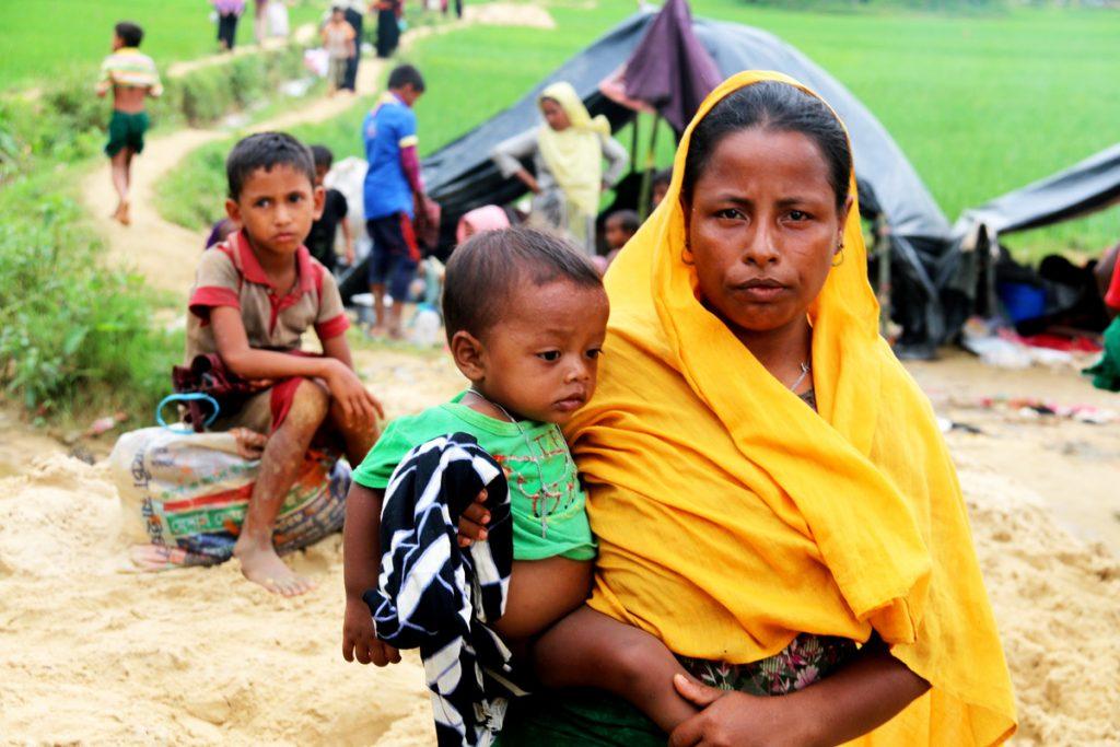 Klima Begum, Rohingya Refugees