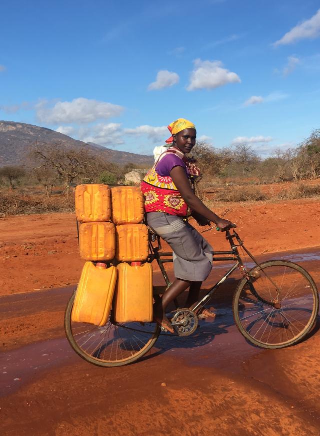 Capability: Brenda Mwadabiro, 22, from Kishushe in Kenya.